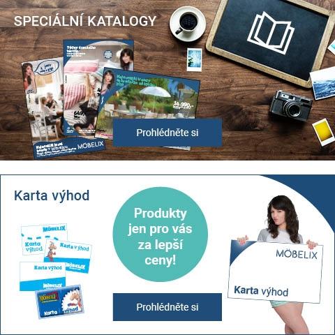 Speciální katalogy a karta výhod.