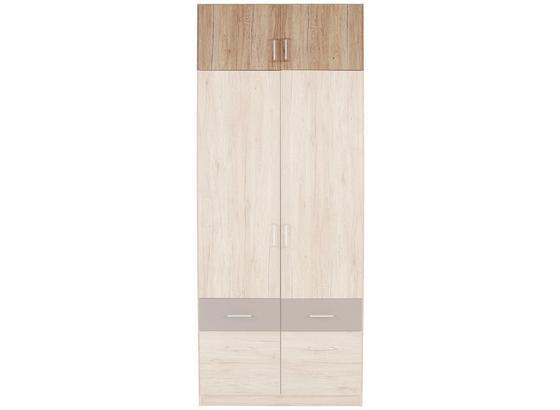 Nástavec Na Skříň Aalen-extra - Konvenční, kompozitní dřevo (91/39/54cm)