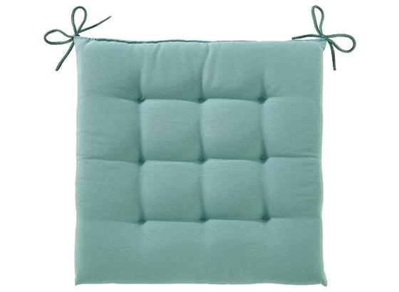 Sedák Anita -ext- - světle modrá, textil (40/40/4cm) - Mömax modern living