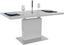 Výsuvný Stůl Raymond 120 Az - bílá/barvy nerez oceli, Moderní, kov/kompozitní dřevo (120-160/76/80cm)