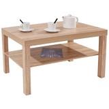 Couchtisch Holz mit Ablagefach Light, Sonoma Eiche Dekor - Sonoma Eiche, MODERN, Holzwerkstoff (90/45/55cm)