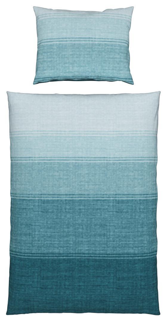 Bettwäsche Jessie - Blau/Petrol, MODERN, Textil - James Wood