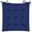 Sedák Lola -based- -top- - modrá, textil (40/40/2cm) - Based
