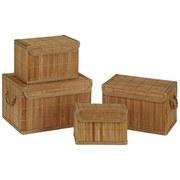 Aufbewahrungsbox Cornelius, L - Naturfarben, KONVENTIONELL, Holz (33/22/20cm) - Ombra
