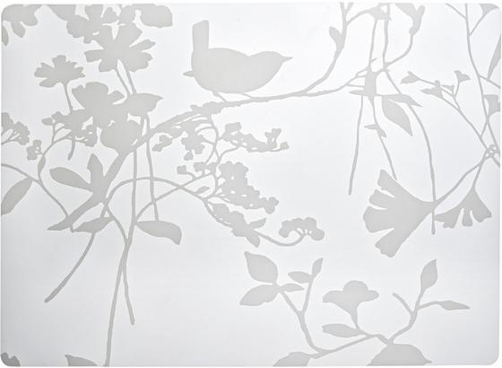 Prostírání Birdy - bílá, umělá hmota (33/45cm) - Mömax modern living
