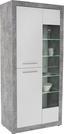 Vitrin Strada - Fehér, konvencionális, Faalapú anyag (93/194/41cm)