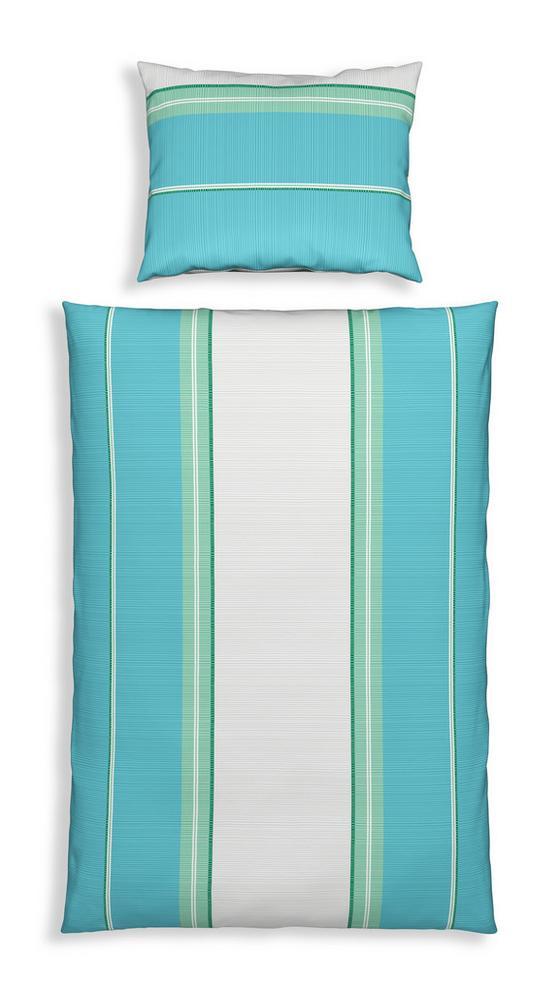Bettwäsche Marilia - Blau, MODERN, Textil - Luca Bessoni