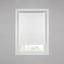 Plissee Luzia - Weiß, MODERN, Kunststoff (90/130cm) - Luca Bessoni