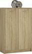 Komoda 4-you Yuk07 - farby dubu, Moderný, kompozitné drevo (74/111.4/35.2cm)