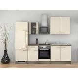 Küchenblock Eico 270cm Magnolie - Eichefarben/Magnolie, MODERN, Holzwerkstoff (270/60cm) - FlexWell.ai