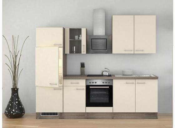 Küchenblock Eico 270cm Magnolie - Eichefarben/Magnolie, MODERN, Holzwerkstoff (270/60cm)