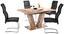 Ausziehbarer Esstisch Vito 138cm San Remo Dunkel - Eichefarben, MODERN, Holzwerkstoff (138/76/90cm)