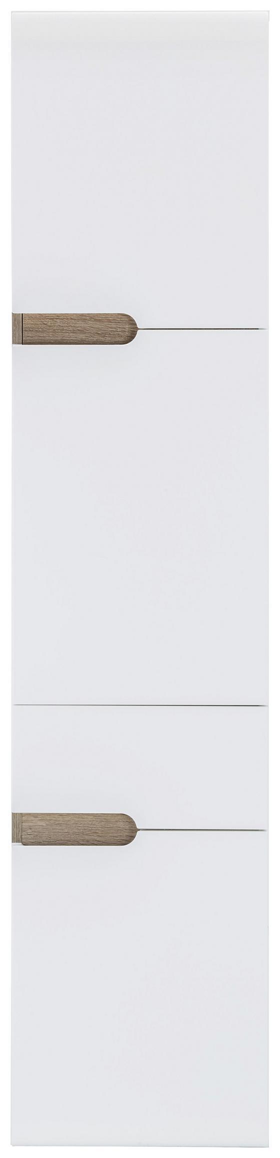 Vysoká Skriňa Linate Pravá - Moderný, drevený materiál (40/176/31cm)