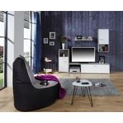 Obývacia Stena Aran - biela/svetlosivá, Moderný, drevený materiál (221/183,5/40cm)