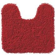WC Vorleger Lilly, mit Schnitt - Rot, KONVENTIONELL, Textil (45/50cm) - OMBRA
