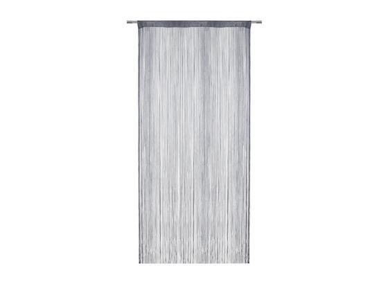 Provázková Záclona Franz - šedá, textil (90/245cm) - Mömax modern living
