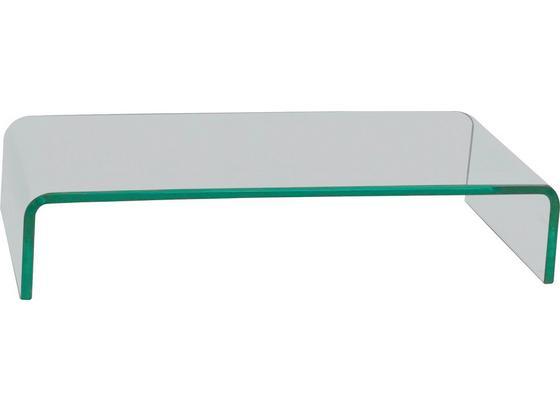 Tv Nadstavec Hagen 2 - Moderný, sklo (55/11/25cm)