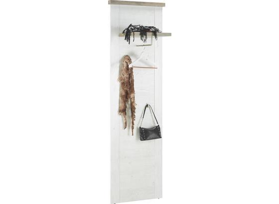 Nástenný Panel Duro - farby dubu/farby pínie, kov/kompozitné drevo (61,4/199,2/34,1cm)