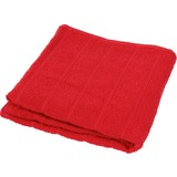 Handtuch Lilly - Rot, KONVENTIONELL, Textil (50/100cm)