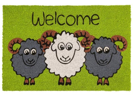 Rohožka Sheep 40x60cm - vícebarevná (40/60cm) - Mömax modern living