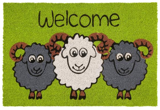 Rohožka Welcome Sheep - vícebarevná (40/60cm) - Mömax modern living