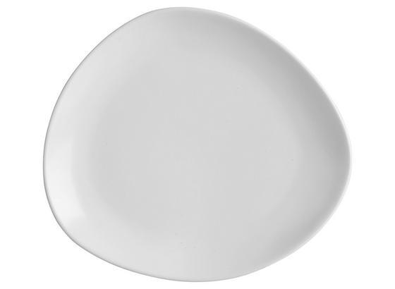 Dezertný Tanier Nele - biela, Moderný, keramika (21/19/2,3cm) - Premium Living