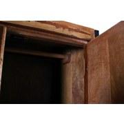 Garderobenschrank 03564-98 Faro - Multicolor/Schwarz, Basics, Holz/Metall (80/180/45cm) - MID.YOU
