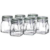 Einmachglas-Set ca. 750ml - Transparent, Basics, Glas (10/14cm)