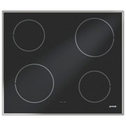 Gorenje Glaskeramikkochfeld Ecd 610 X - Schwarz, Glas (59,5/4.9/51cm)