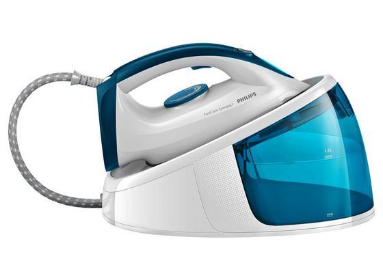 Dampfbügelstation GC6709/20 - Blau/Weiß, KONVENTIONELL, Keramik - Philips
