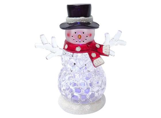 Led Dekoračná Lampa Snowman - číra, umelá hmota/kov (9/9/10,8cm) - Mömax modern living