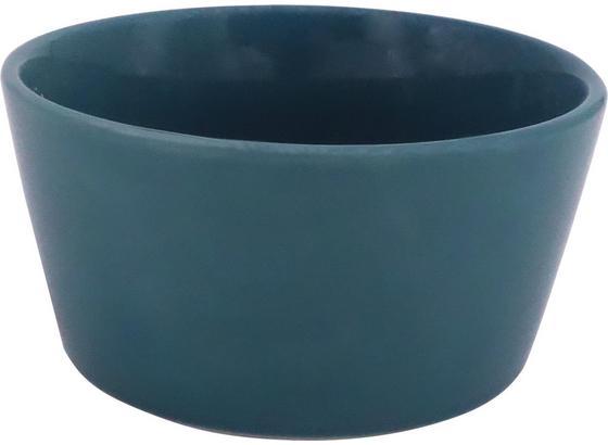 Miska Na Müsli Merit - petrolej, Moderní, keramika (11,8cm) - Premium Living