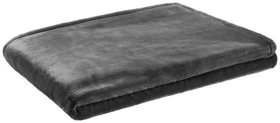 Wohndecke Mila 150x200 cm - Anthrazit, ROMANTIK / LANDHAUS, Textil (150/200cm) - James Wood