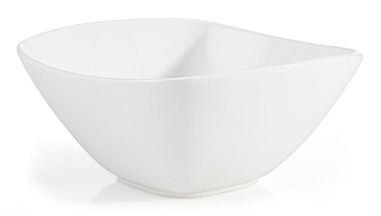 Miska Na Müsli Tacoma -top- - bílá, Lifestyle, keramika (14,2/6,8/14,2cm) - PREMIUM LIVING