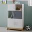 Komoda Brian - farby borovice/biela, Moderný, kov/drevo (60/103/34cm) - Mömax modern living