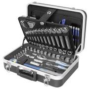 Werkzeugset 03179 106-teilig - Schwarz, MODERN, Metall (43/14/32cm) - ERBA