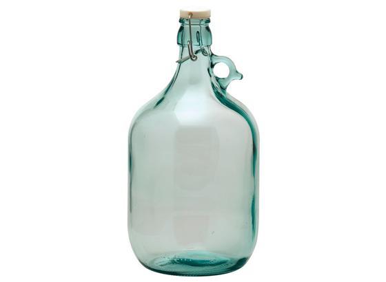Universalflasche Gallone 5 Liter - Klar, KONVENTIONELL, Glas (17/35/17cm)