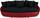 Megasofa Aruba II - Rot/Schwarz, LIFESTYLE, Textil (238/80/140cm)