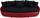 Megasofa Aruba II - Rot/Schwarz, MODERN, Textil (238/80/140cm)