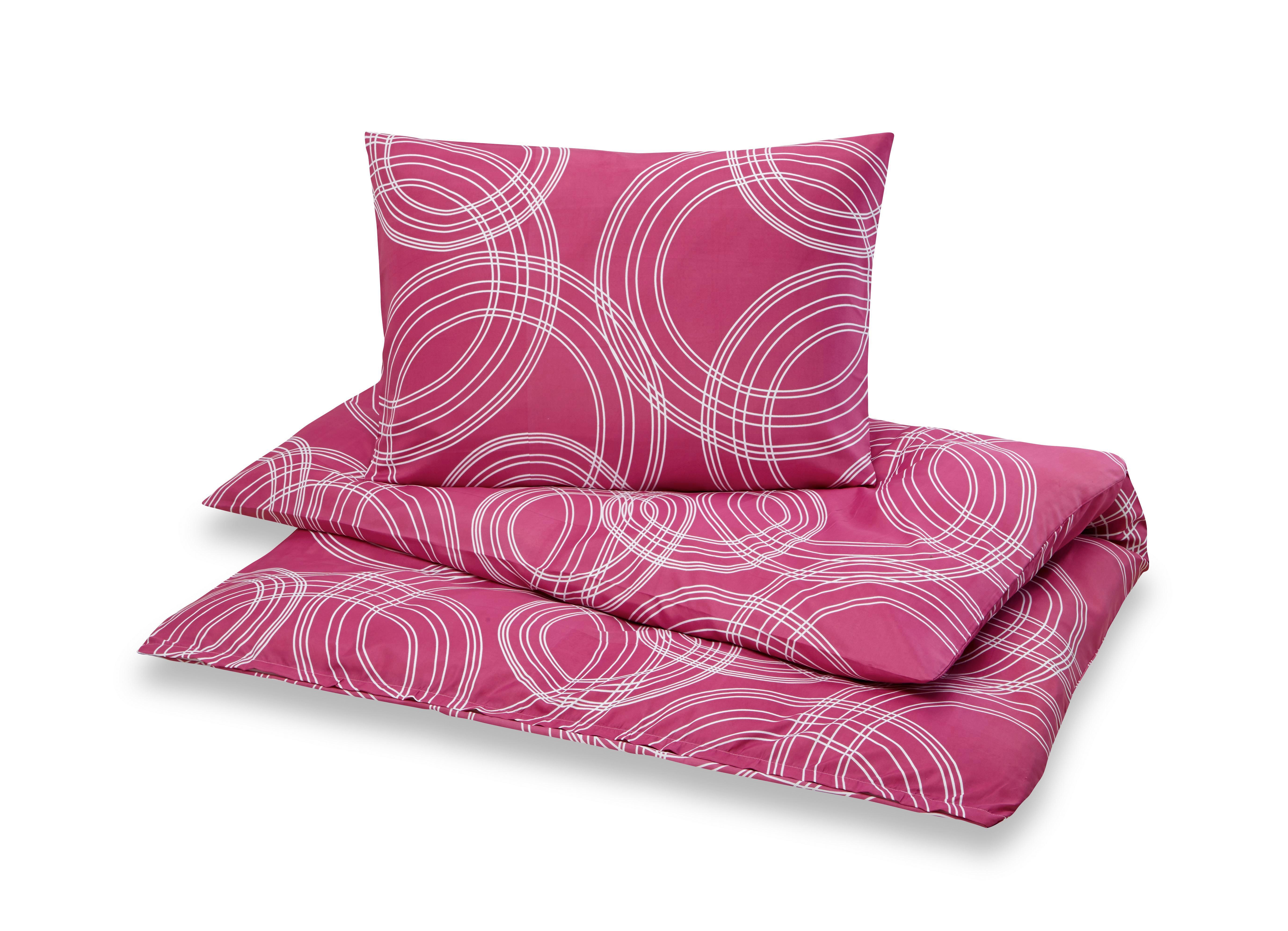 Ágyneműhuzat-garnitúra Bea - pink, modern, textil - LUCA BESSONI