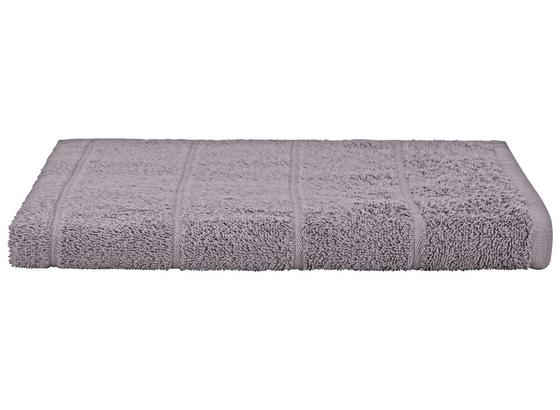 Duschtuch Liliane - Hellgrau, KONVENTIONELL, Textil (70/140cm) - Ombra