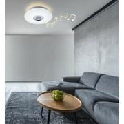 LED-Deckenleuchte Nicole D: 40 cm Weiß - Weiß, Basics, Kunststoff (40/7cm) - Globo