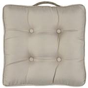 Sitzkissen Philinia - Beige, MODERN, Textil (43/43/8cm) - Luca Bessoni