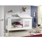 Hausbett Baumhaus 90x200 cm Weiß - Weiß, KONVENTIONELL, Holzwerkstoff (90/200cm) - MID.YOU