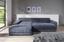 Wohnlandschaft L-form Adria 213x308cm - Anthrazit, MODERN, Textil (213/308cm) - Luca Bessoni