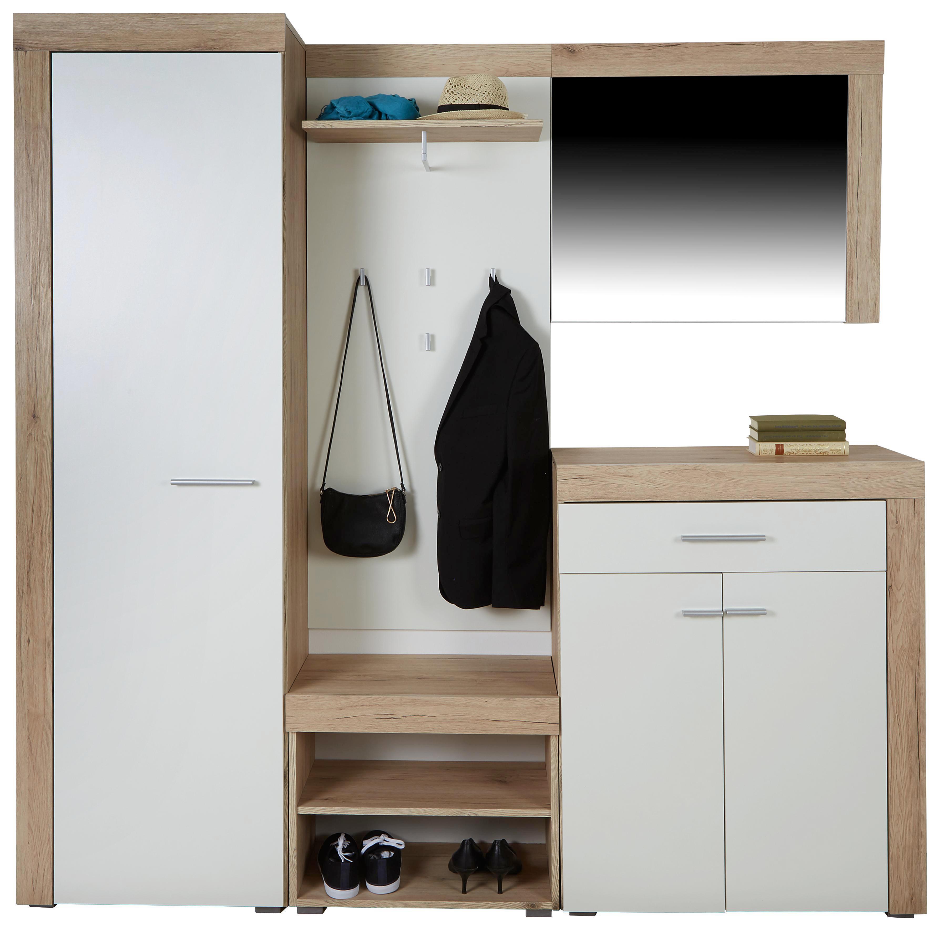 Garderobe Modern garderoben set modern top zalyna in anthrazit eiche modern teilig