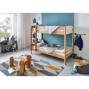 Etagenbett Michelle 90x200cm Buche Massiv - Naturfarben, Design, Holz (90/200cm)