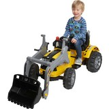 Kinderauto Ride On Traktor T800 - Gelb, MODERN, Kunststoff/Metall (148/61/64cm)