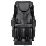 Massagesessel Ms2100 Schwarz - Schwarz, Basics, Leder/Kunststoff (150/120/71cm)
