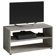 TV-Element Vancouver - Schwarz/Grau, KONVENTIONELL, Holzwerkstoff (90/45/39cm) - Livetastic